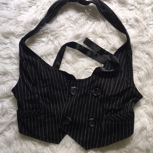 Tops - STRIPPED VEST